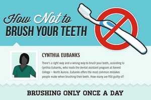 The 'How Not to Brush Your Teeth' Chart Teaches What Not to Do