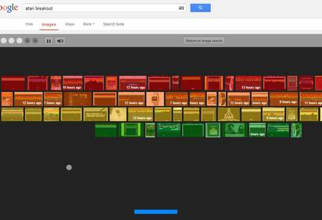 Google Search-Infused Games - 'Atari Breakout' Celebrates 37 Years with a Google Stunt