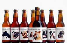 Pooch-Saving Health Drinks - The 'KOMBUCHADOG' Drink Helps Rescue Dogs Find Homes