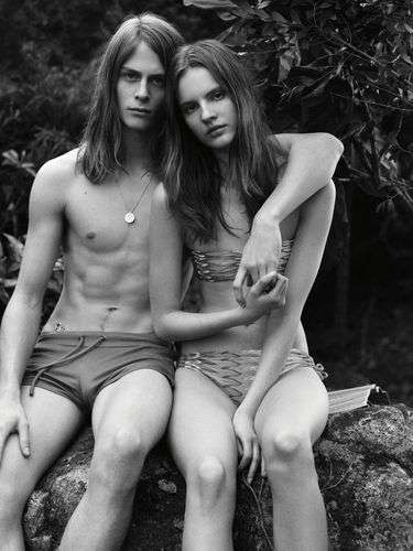 Beachside Couple Editorials