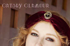 DIY 1920s-Themed Headbands - This Gatsby-Inspired Turban is Perfect for a Classy Old School Look