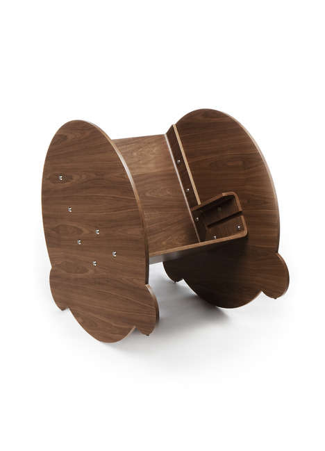 modern rocking chair