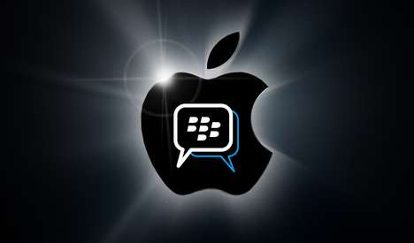 Familiar Smartphone-Wide Text Alternatives - BlackBerry BBM Maintains Popular Alternative to Texting