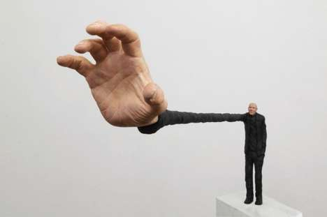 Absurd Realism Sculptures - Artist Gerardo Feldstein Plays with Different Perspectives