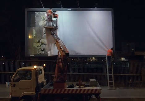 The Ad Agency Publicis Milan Has Turned a Billboard into a Bug Trap