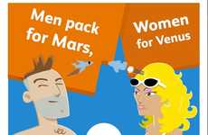 Gender-Specific Packing Charts