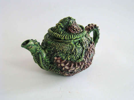 Zombie-Inspired Teapots - These Novelty Decaying Teapots are Perfect for the Undead Enthusiast