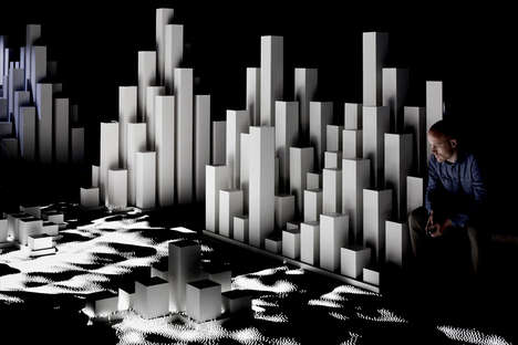 Abstract Arctic Installations - High Arctic by United Visual Artists Has a Cold Feel