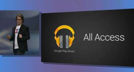 Competitive Music Subscriptions - Google All Access Music Service Now Available in the U.S.