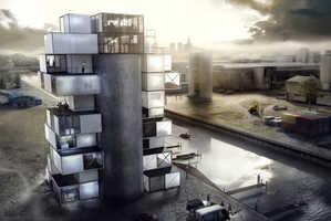 The Diving Centre by Moko Architects Boasts Distincitve Design