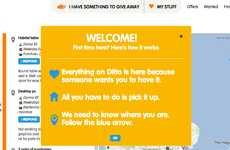 Free Stuff Finders - Ditto is an Online Platform Fostering Collaborative Consumption in the UK