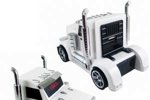 This Truck-Shaped USB Also Has a Portable Speaker and Radio