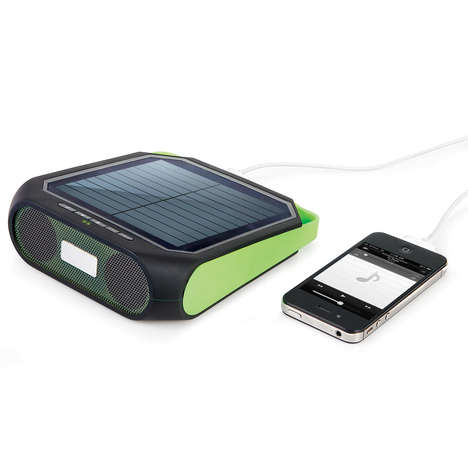 Portable Solar Powered Speaker