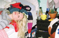 Chaotic Bedroom Captures - Maya Fuhr Documents Hot Girls in Messy Room Environments