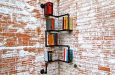 From Animalistic Book-End Accessories to Converted Library Abodes