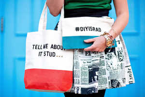 The 'My DIY Quote Tote' Spins Kate Spade's Latest Look