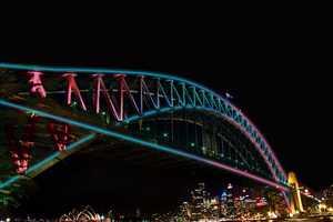 Vivid Sydney's 2013 Centerpiece is an Interactive Light-Up Bridge