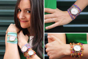 Brit+Co's Watch Wrap Bracelets are a Useful Accessory Creation
