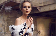 Haute Couture Shipment Editorials