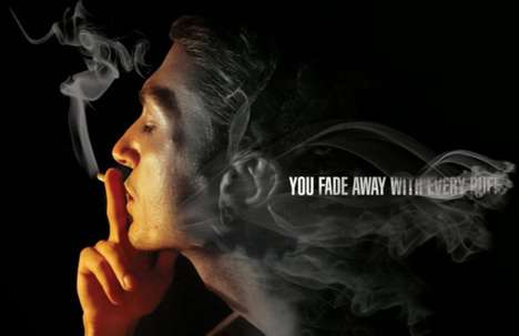 still continue to smoke, but these clever anti-smoking ads are