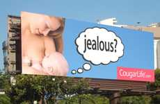 Inappropriate Dating Service Billboards