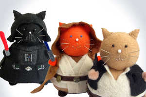These Star Wars Cat Pincushions are Great for Sci-Fi Sewing Needs