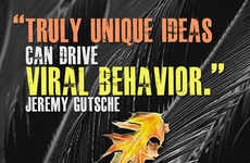 Truly Unique Ideas Drive Viral Behavior