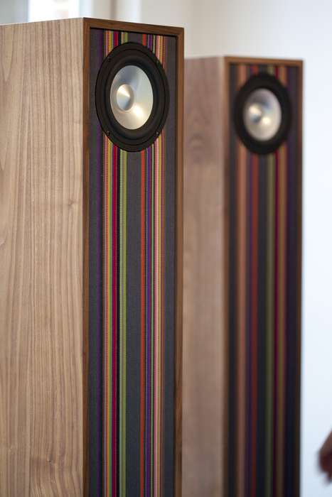 Upholstered Sound Systems - The Tailor Loudspeaker Can be Customized with Colorful Fabrics