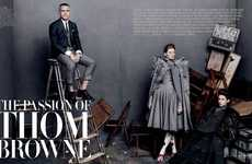 Whimsical Avant-Garde Fashion