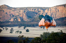 Animalistic Hot Air Balloons