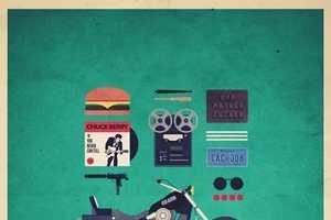 Alizée Lafon's 'Movies Hipster Kits' Help You Live Like a Film Charact