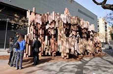 Cavernous Cardboard Structures