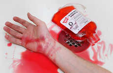 Gory Carnage Shower Cleansers - Reenact the Psycho Shower Scene with Blood Bath Shower Gel