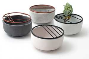 Soe Cups and Ikenaba Bowls Make for Stunning Flower Arrangements