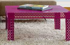 Perforated Pink Consoles