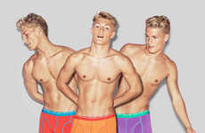 Vivid Skivvies Branding - The Björn Borg Ad Campaign Promotes the Label's Brightly Hued Designs