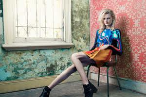 The JASU Fall 2013 Campaign Stars Top Model Hanne Gaby Odiele