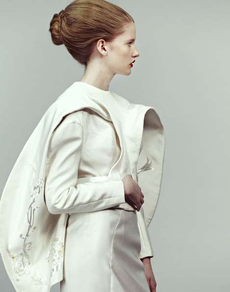 Contemporary Zen Couture - The Bona Kim Graduate Collection is a Modern Take on Oriental Culture
