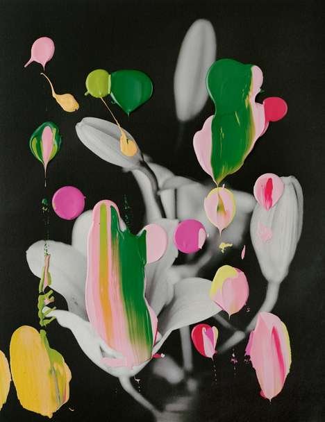Abstracted Botanical Artworks - These Photo Paintings by Nanna Hänninen Are Creatively Cultivat