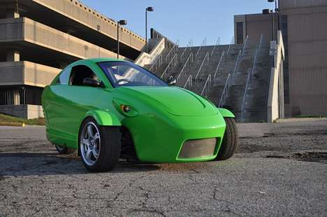 Pump-Crushing City Cars - The Elio from Elios Motors Can Hit 100 and Gets 84 MPG