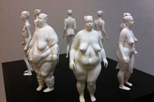 Eve by Ted Lawson Depicts Different Body Types for Same Woman