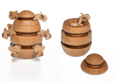 Adult-Geared Wooden Toys - The Metaproject 03 Series Partners Up with New York-Based Areaware