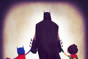These Comic Book Families Showcase the DC Heroes as Moms and Dads