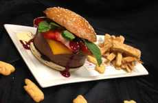 Deceptive Dessert Burgers - The 'Chocolate Double Double Animal' Burger is Both Sweet and Savoury