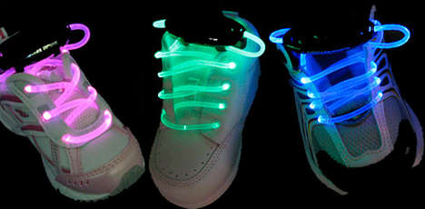 Fluorescent Footwear Designs