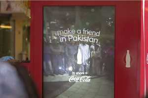 Coca-Cola's 'Small World Machines' Connects Indians and Pakistanis