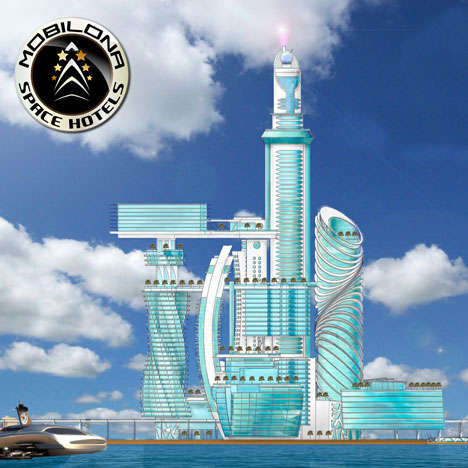 Spanish Spaceman Hotels - The Barcelona Space Hotel Aims to Bring Space Tourism to Spain