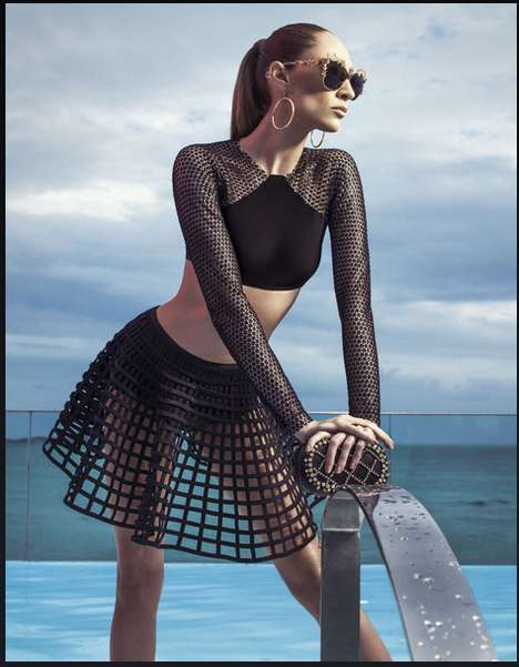 60s-Inspired Beach Couture - The
