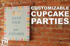 Customizable Cupcake Parties - Pink the Town Offers a Cupcakes and Couture Event at Le Dolci