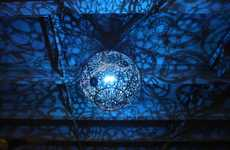 Recycled Rave Light Displays - The 'Ballroom Luminoso' Installation Shows Vibrant Eco-Friendly Lamps